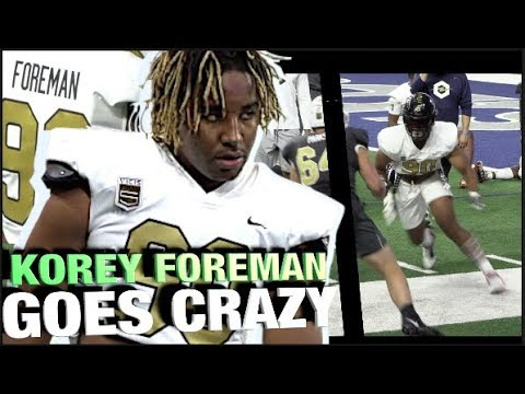 🔥 Korey Foreman Goes CRAZY & Wins DL MVP at The Opening Finals in Texas