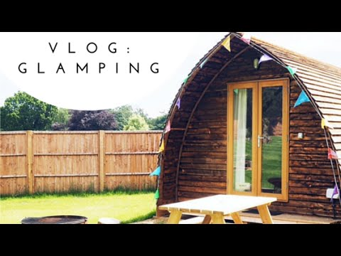 VLOG: Glamping in Norfolk, Cromer