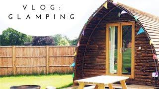 VLOG: Glamping in Norfolk, Cromer