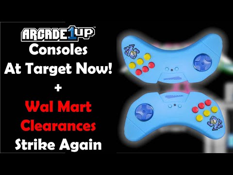 Arcade1up Consoles In Stores Now! Asteroids Stool Now Available + Another Round of Walmart Clearance from Unqualified Critics
