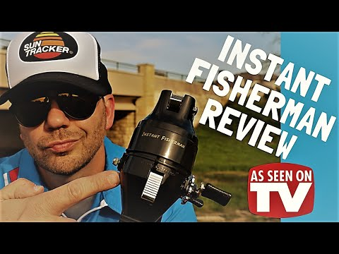 The WORST FISHING ROD Ever Designed? As Seen On TV Instant Fisherman Review