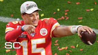 Patrick Mahomes showed his greatness late in Super Bowl – Damien Woody | SportsCenter