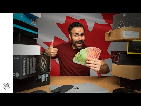 Best CANADIAN Black Friday Tech Deals! (2017)