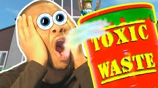 TOXIC WASTE SOUR CHALLENGE!! | Roblox Natural Disaster