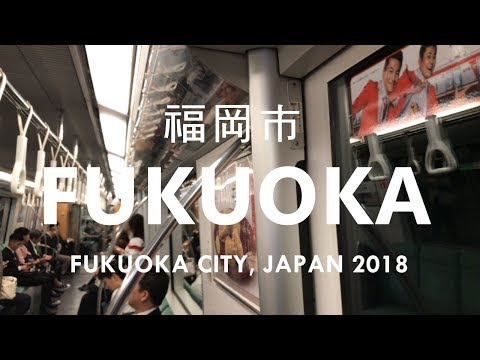 JAPAN, FUKUOKA CITY - JAPAN 4K 2018 (with ASMR) - Smash Drawing