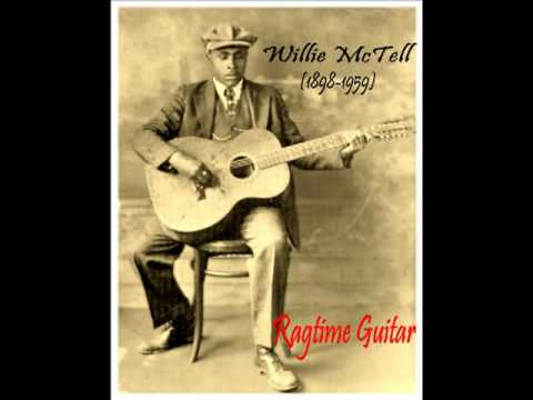 Ragtime Guitar : BLIND WILLIE MCTELL . ' Southern Can Is Mine ' (1931)