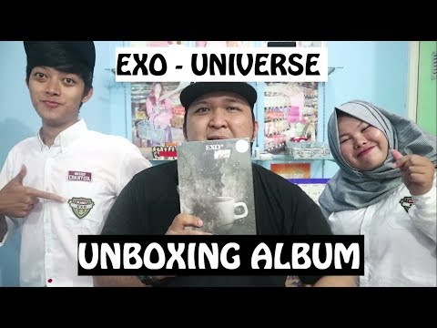 EXO - UNIVERSE 'UNBOXING' WINTER ALBUM...