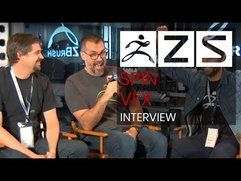 Spin VFX Interview with Host Louie Tucci