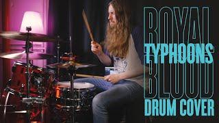 Royal Blood - Typhoons - Drum Cover By Stefán Ari