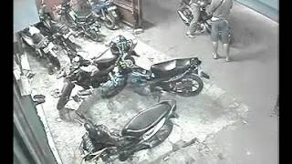 Pencurian Motor di Net D'Mayer 3 (sisi kanan ) 15-03-2011 Pukul 19.35 WIB
