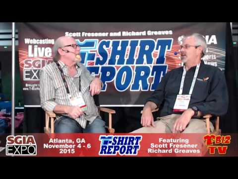 T-Shirt Report From SGIA 2015 - Interview with Marshall Atkinson
