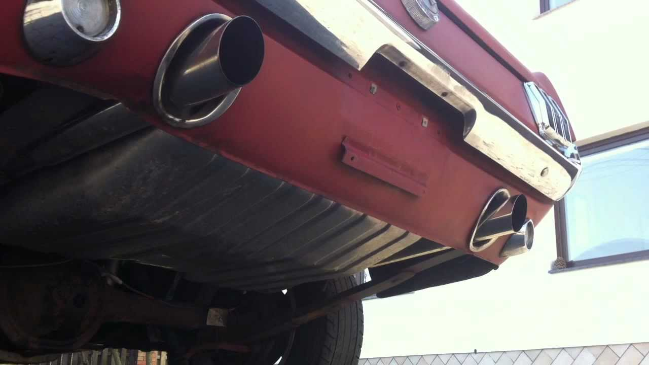1966 Mustang Gibson 3 Inch Exhaust With Jba Headers