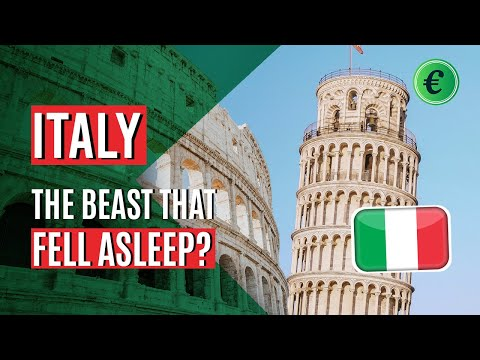 The Economy of Italy - The sick man of Europe?