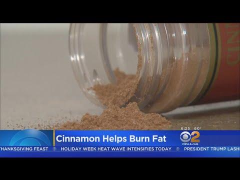 Study: Cinnamon Helps Burn Fat