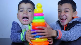 Kinderlieder Mit rayane and kid , Learn Colors With Finger Family Song, Collection