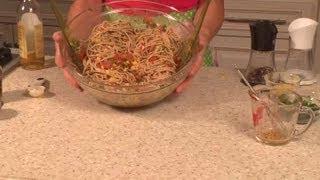 Spaghetti & Corn Salad : Vegan Delights
