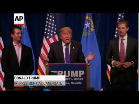 Trump love the poorly educated - YouTube