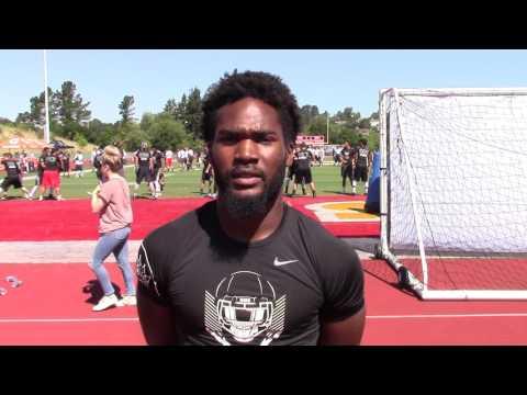 Omari Harris Oakland Nike Regional Interview May 2017