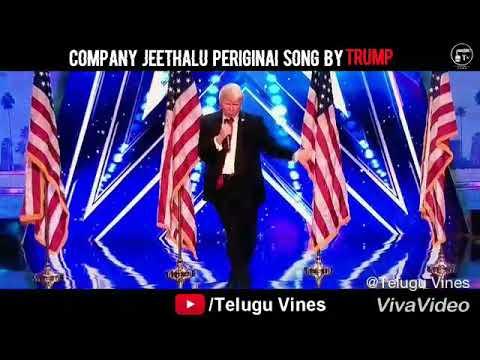 Ma kampeniki jeethalu periginay song by trump
