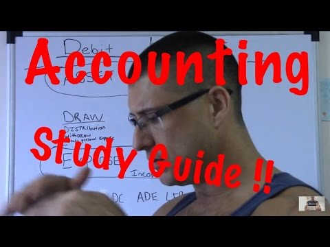 Accounting for Beginners #13 / Accounting Study Guide / Template