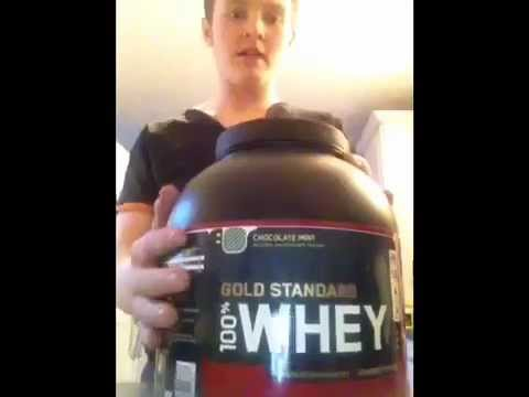 100 whey gold standard test