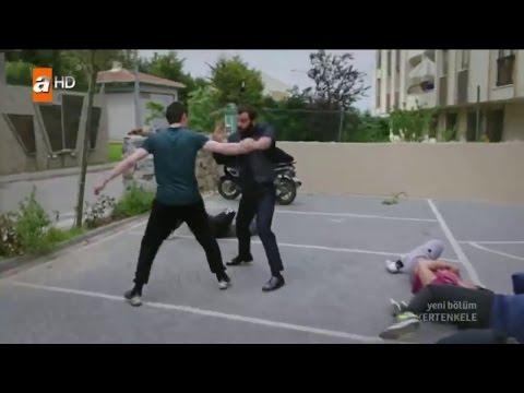 Kertenkele 67 Bölüm Kara Kemal Kavga Sahnesi