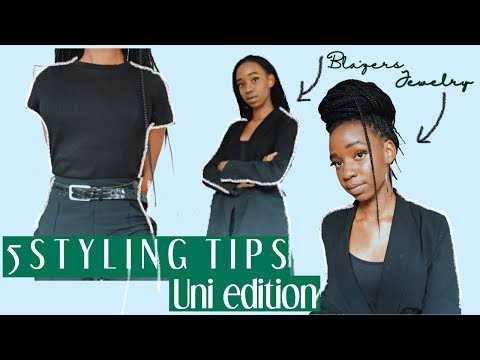 How 2 Style University Outfits (strathmore University Dress Code)