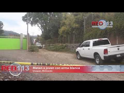 VIDEO Matan a joven con arma blanca