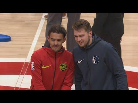 Trae Young vs Luka Doncic! Young Spin Crossover! 2018-19 NBA Season
