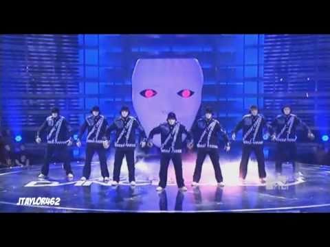 jabbawockeezRobot Remains Performance