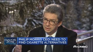 Philip Morris CEO: We need to find cigarette alternatives