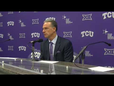 TCU HC Jamie Dixon talks Frogs' 90-70 win over Oklahoma State