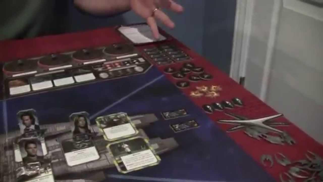 battlestar galactica board game manual