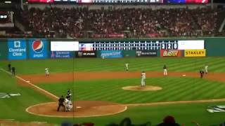 Indians Yan Gomes Walk-off Single to beat Yankees 9-8 in Bottom of 13th Inning of ALDS Game 2