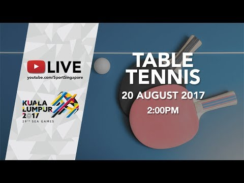 Table Tennis Mixed Doubles Finals | 29th SEA Games 2017
