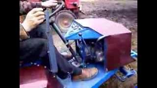 Мини-трактор на продажу (самодельный)