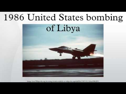 1986 United States bombing of Libya