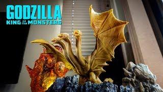 【えぐいソフビ爆誕!】キングギドラ2019 ソフビレビュー ★ゴジラ キング・オブ・モンスターズ godzilla king of the monsters