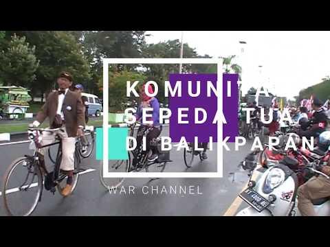 KOMUNITAS SEPEDA TUA (onthel) INDONESIA BALIKPAPAN