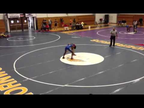 Jordan Norwood Wrestling - 2-24-13