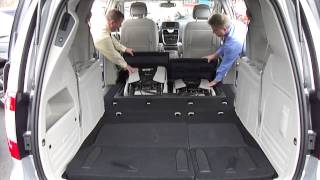2011 Stow n Go Seating Chrysler Town & Country