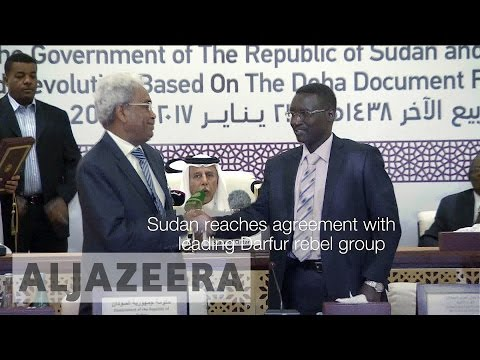 Doha: Sudan reaches agreement with leading Darfur rebel group