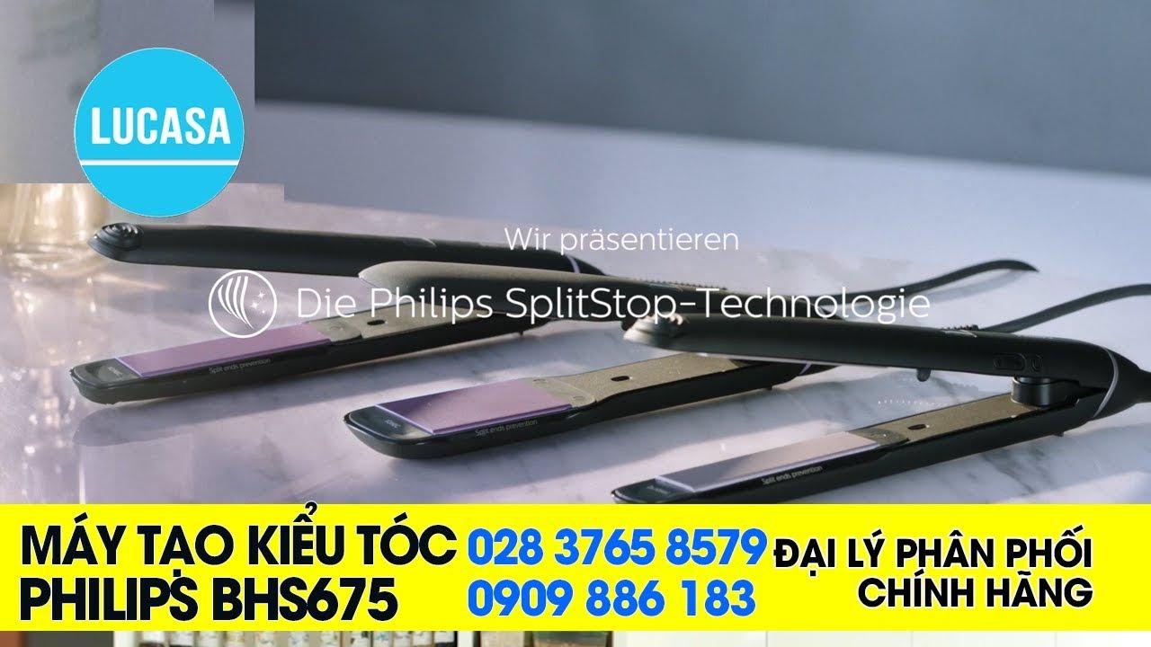 Máy tạo kiểu tóc Philips BHS675