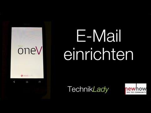 E-Mail einrichten auf dem HTC One V