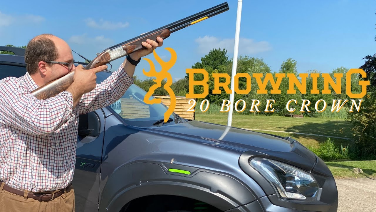 The New Browning 20 bore Crown