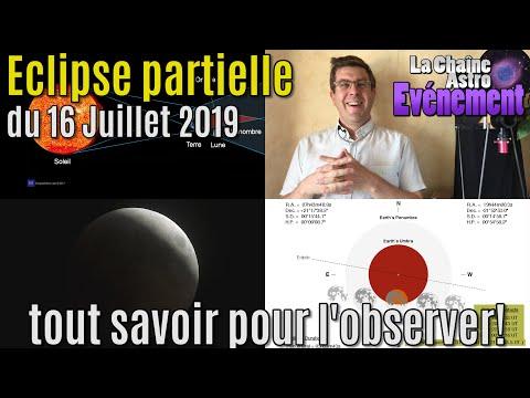 Comment observer l'éclipse du 16 juillet 2019?