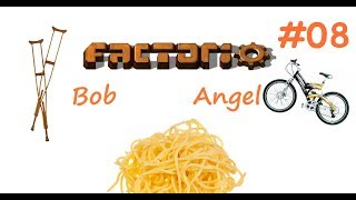 Factorio (Bob+Angel) Ep.8 - Красная и зелёная наука, Молл Т2