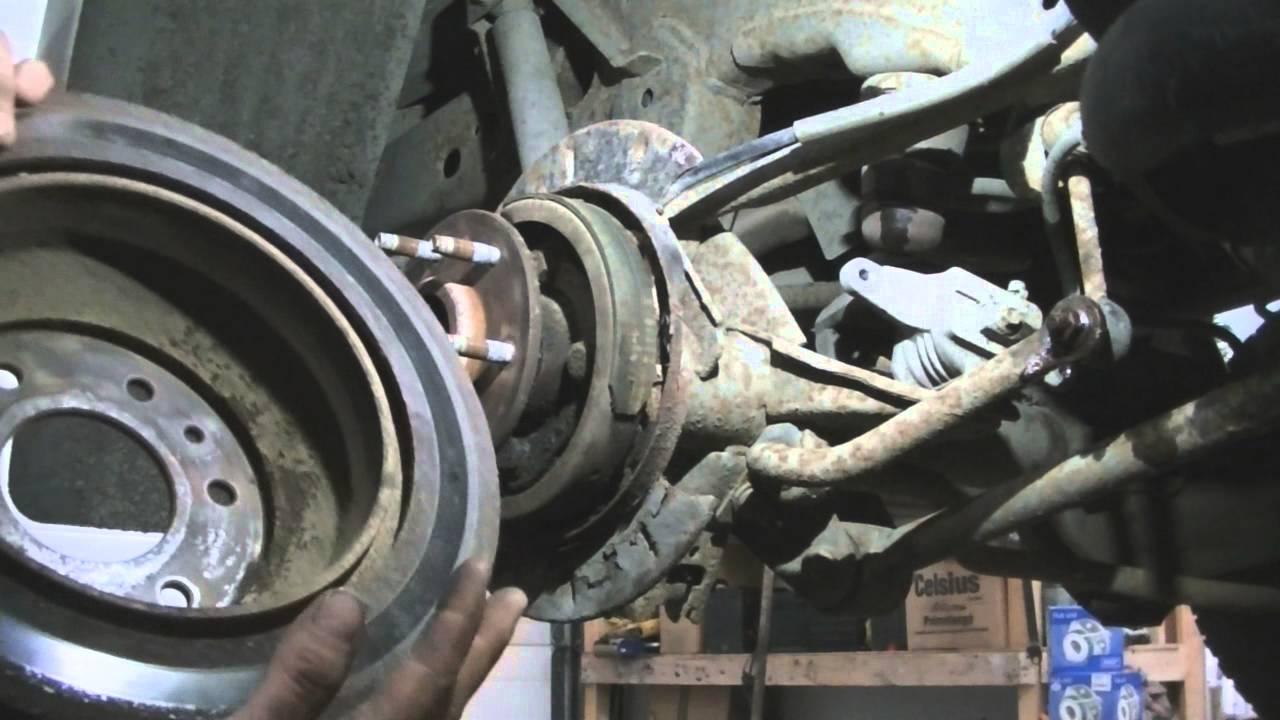 2002 Trailblazer: Rear Swaybar links, Rotors  031616