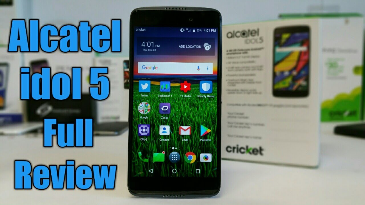 Alcatel idol 5 Cricket Wireless Full Review