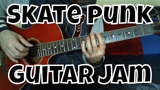 Skate Punk Acoustic Guitar Impro 2